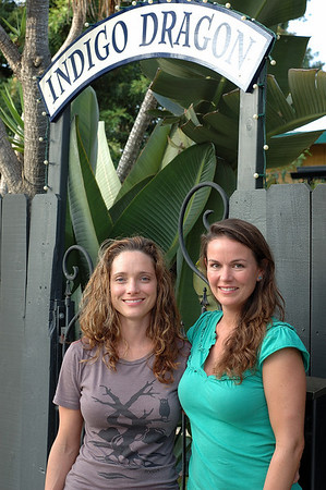 """Jennifer Frischy and Ashley Lanahan, L.Ac. Co-founders of Indigo Dragon<br /> Center for Health & Wellbeing<br /> Acupuncture – Massage - Apothecary<br /> (760) 652-1116<br />  <a href=""""http://www.indigodragoncenter.com"""">http://www.indigodragoncenter.com</a><br /> <br /> info@indigodragoncenter.com"""