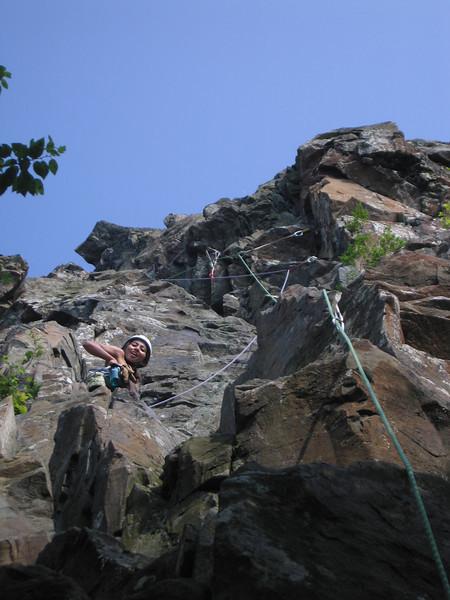 "Last climb of the day.. ""Flatiron Right"""