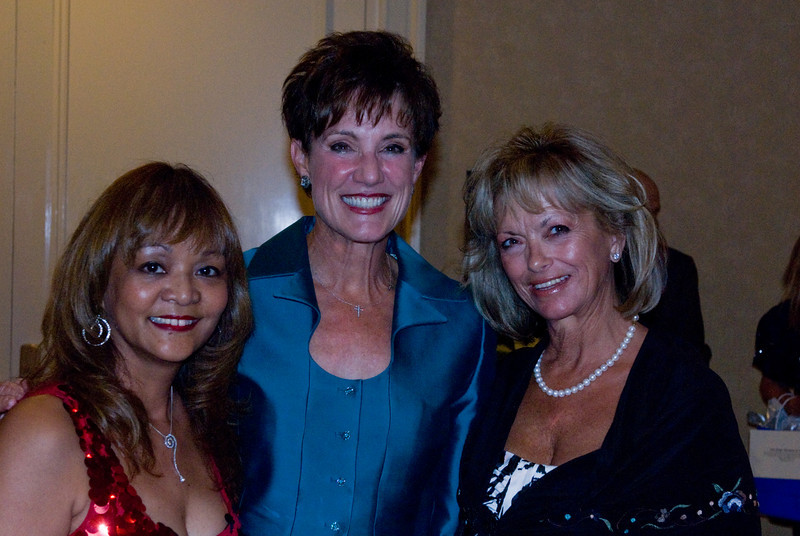 Dorothy Land, Carol LeBeau, and Diana Israel
