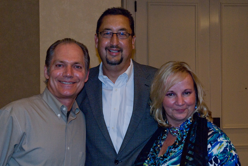 Paul Scott, Luanne Henkle, and Bill Burzynski