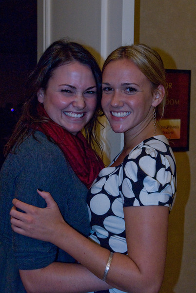 Corinne Hardisty – Event Manager, and Stephanie Waltz Celebrating a job well done!  What a wonderful gala.