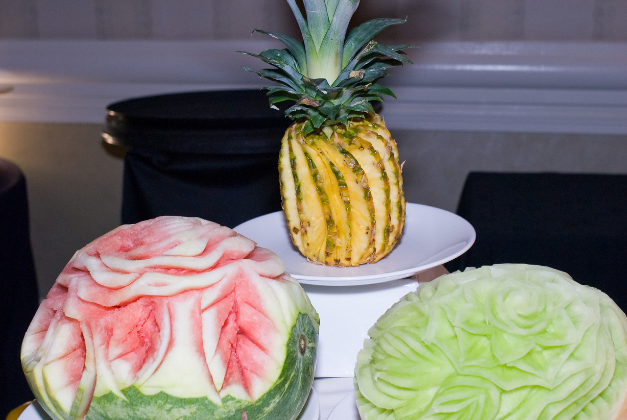 Amazing Fruit Sculptures!