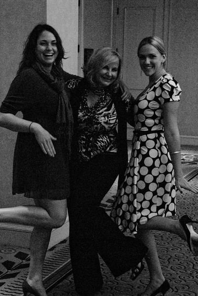 Corinne Hardisty – Event Manager, Luanne Henkle, and Stephanie Waltz