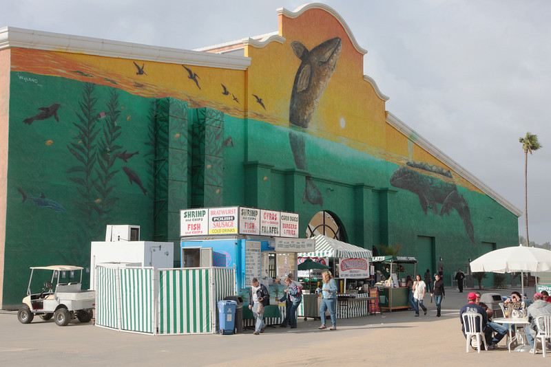 Photo Expo West entrance at the Del Mar fairgrounds in San Diego.