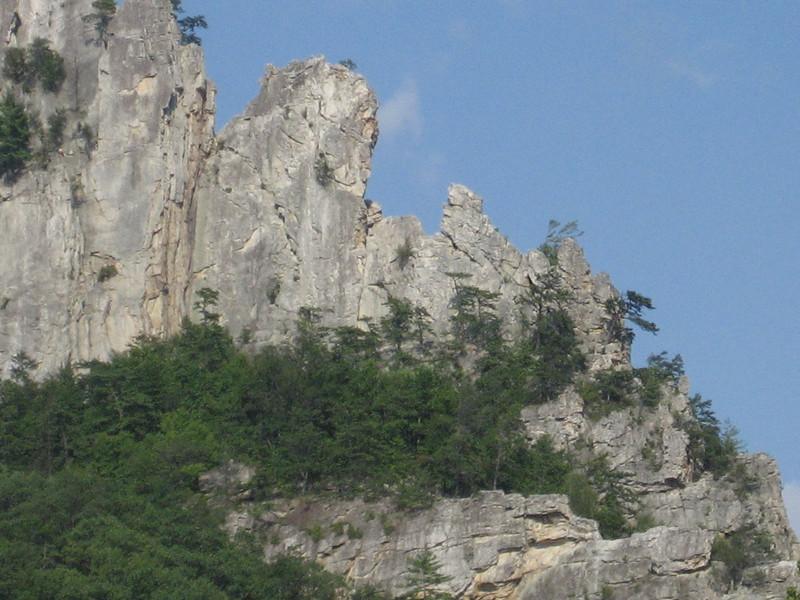 Where we climbed (south peak)