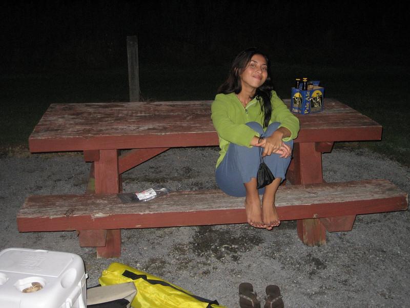 Chillin at camp