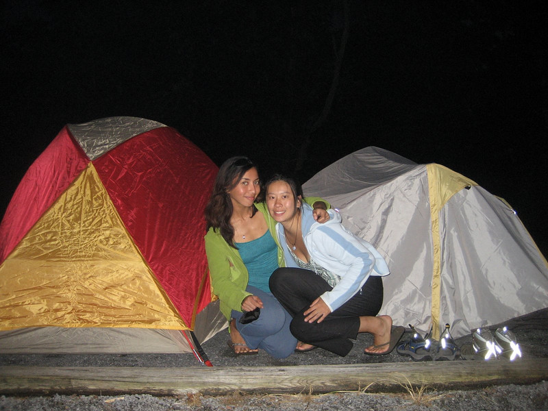 Lav and Kan's first camping trip!