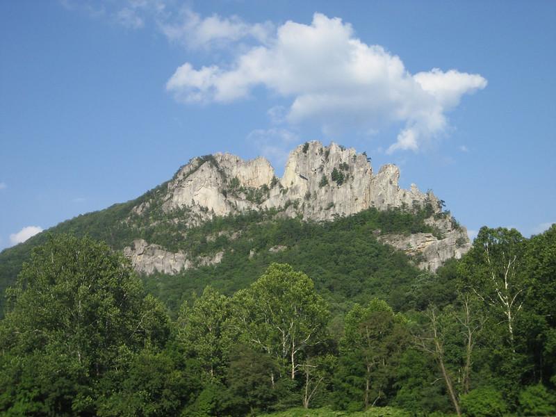 Classic View of Seneca Rocks