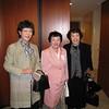 Ranko Agishi '65, Yoshimi Shibata '66, Keiko Okubo '65