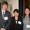 Nick Kaufmann (L&C/Waseda student), Chihiro Kasahara (Waseda), Rika Onodera (Waseda)