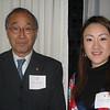 Mr. Hiroshi Yamada (parent) and Ms. Misato Tsuchiya '03