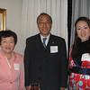 Ms. Yoshimi Shibata '66, Mr. Hiroshi Yamada (parent) and Ms. Misato Tsuchiya '03