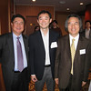 Mr. Sirgoo Lee L'97, Mr. Jae Young Lee '93, Professor Heo Yeong Kim G'85