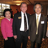 Mrs. Kim, Greg Volk, Professor Heo Yeong Kim G'85