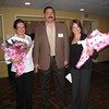 HAMT President Manny Blanco recognizes event organizers and leaders Carol Strommen and Valerie Palluzzi.