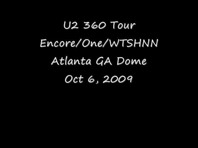 2009 10 06 U2 Encore WTSHNN lo res