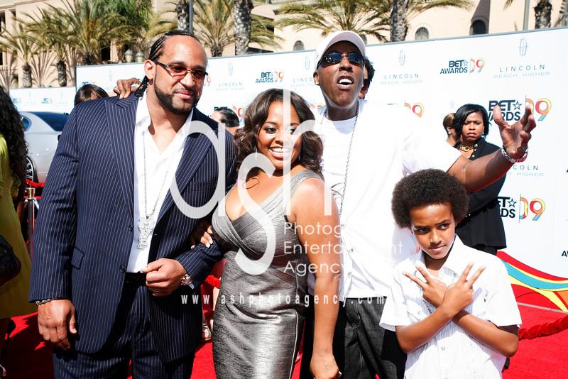 MVP, Sherry Shepard, Arseno Hall and son