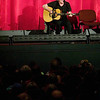 """Record-Eagle photo/Jan-Michael Stump<br /> Paul Kantner, founding member of Jefferson Airplane, performs before the start of """"Woodstock"""" at the State Theatre during the Traverse City Film Festival."""