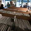 Record-Eagle/Douglas Tesner<br /> Customers buy and pickup tickets at the Traverse City Ticket Box Office on Front Street.