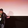 "Record-Eagle photo/Jan-Michael Stump<br /> Director Paul Mazursky speaks to the audience at the City Opera House before the start of Wednesday evening's screening of ""Enemies, A Love Story."""