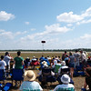 The crowd near the Punta Gorda Airport runway