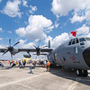 This plane is used as a hurricane hunter