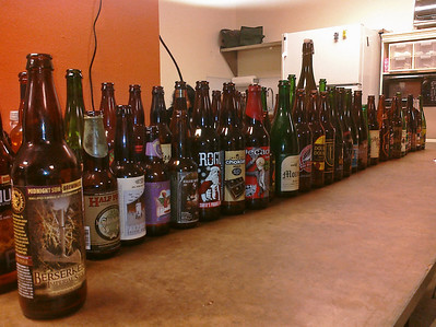 Private beer tasting.