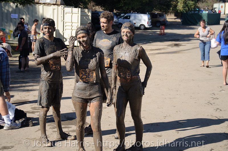 This team apparently had fun in the mud!