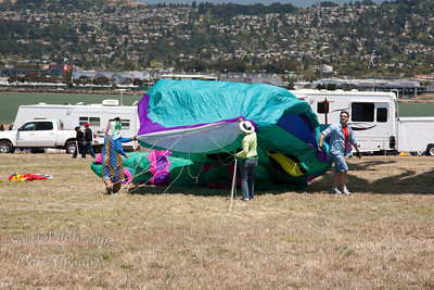 """2009 Kite Fest """"Launch of the Green Octopus"""""""