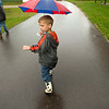 Record-Eagle photo/Jan-Michael Stump<br /> Bucky Brief, 5, of Traverse City walks through the Northwestern Michigan Fairgrounds.