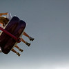 Record-Eagle photo/Jan-Michael Stump<br /> Fairgoers take in the amusement rides.