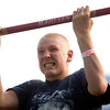 Record-Eagle photo/Jan-Michael Stump<br /> Rance Isenhart, 15, of Elk Rapids tries a  U.S. Marine chin-up test.