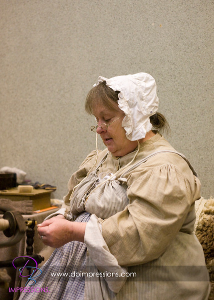 Crafter who lives an authentic 18th century life in Elizabethtown, PA