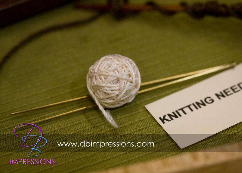 Tiny knitting needles