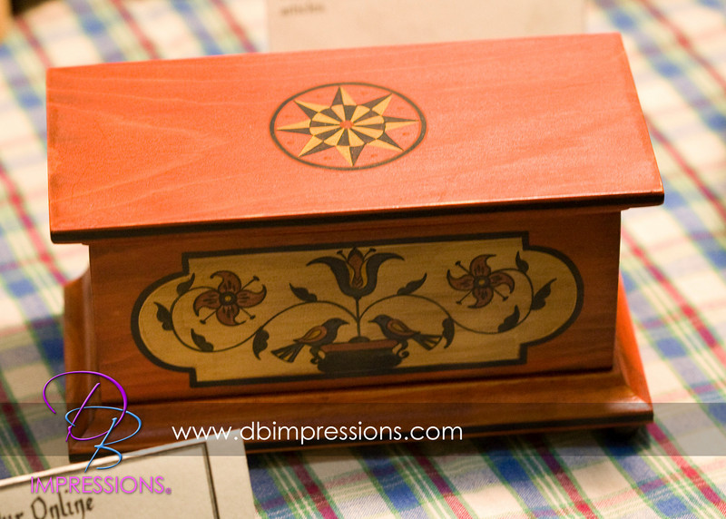 Another hand-created wooden box.