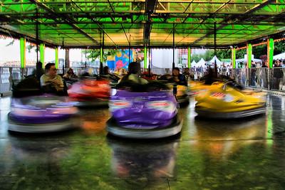 Bumper Cars - 2009 Portland Rose Festival   | Sigma 18-50mm f/2.8 EX DC