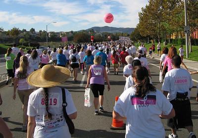 Susan G. Komen Race for the Cure, Temecula, CA -- 18 Oct 2009