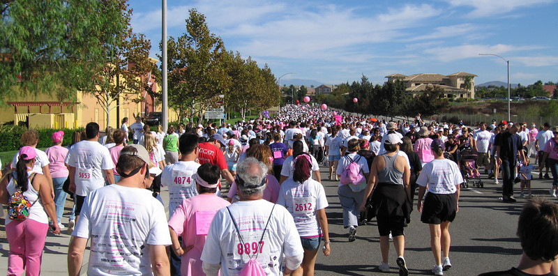 Susan G. Komen Race for the Cure, Temecula, CA -- 18 Oct 2009