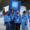 Aqsa, Hamzah, Mboyi, and Anastasiya are prepared to help visitors to the Special Olympic World Games in McCall, Idaho.