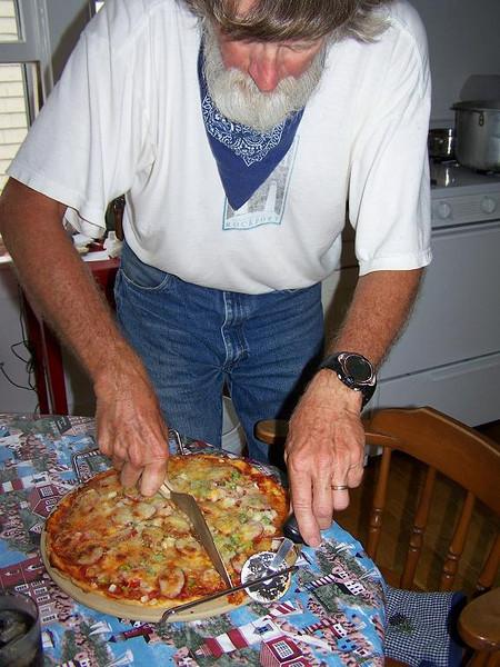 John's Island pizza.