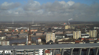 On the tower in Bremerhaven