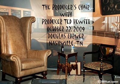 20091022 The Producer's Chair with Ted Hewitt