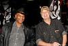 20091116 Orange Man Video Shoot_8 AJ Anthony Jefferson w Producer Campbell Wright