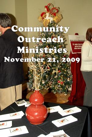 20091121 Community Outreach Ministries