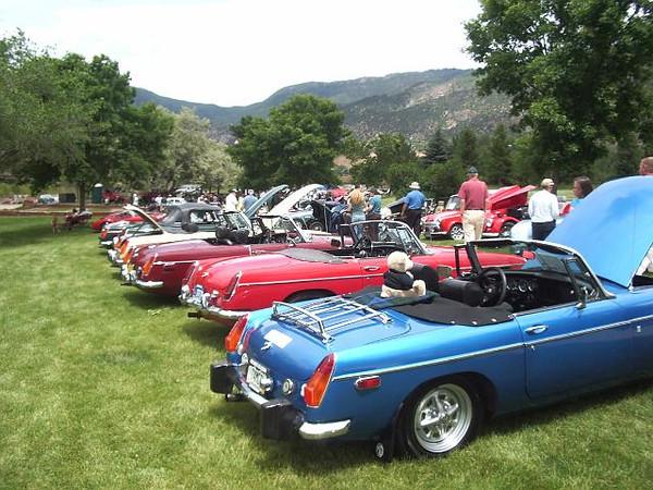 57th Glenwood Springs MG Rallye