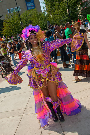 Cariwest brings the spirit of Caribbean Carnival to the Festival City of Edmonton. 2009 marked the 25th Anniversary of this event.