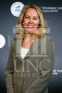 Valerie Plame Wilson Speaks at UNCP for the Distinguished Speaker series In GPAC.