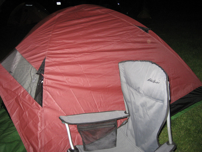 Esten's tent