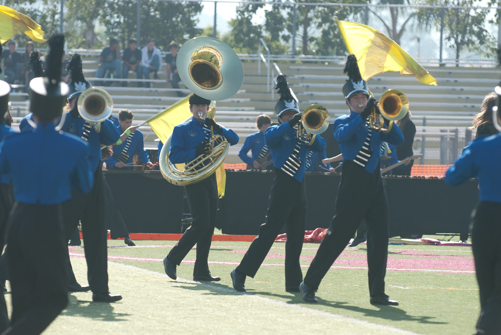 Mission Hills High Band Competition-4163