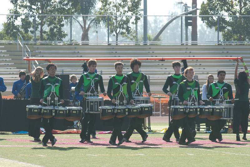 Mission Hills High Band Competition-4247